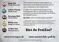 Die FruiZees - Izzy Ice 10ml Fill up