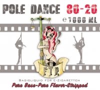 FTR Pole Dance Base - 80/20 in 1000ml